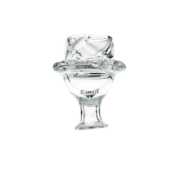 Bowl Glass Carb Cap - 3.5cm
