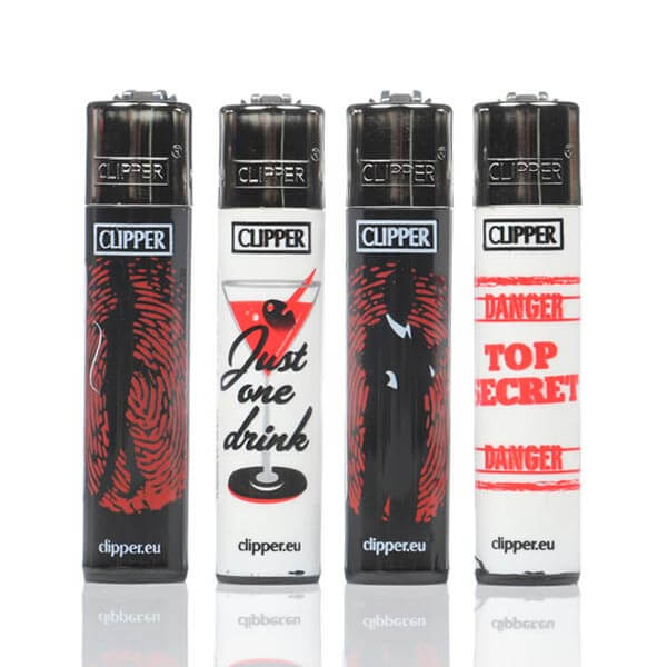 Clipper Refillable Detective Lighter