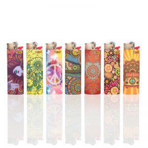 50 x Bic Maxi Decor Hippie Dreams Lighter