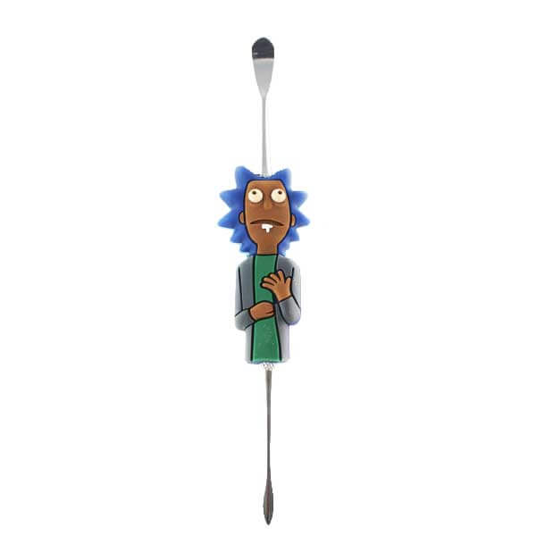 Stainless Steel Rick & Morty Dabbing Tool - 12.5cm