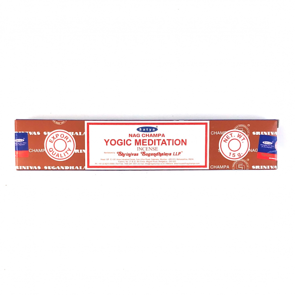 Satya Nag Champa Yogic Meditation Incense 15g