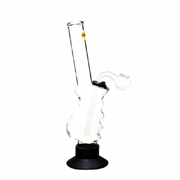 MWP Large Gripper Water Pipe With Glass Pipe 30cm