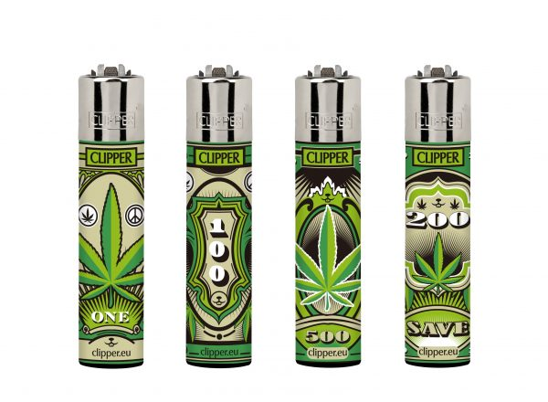 Clipper Refillable Dollar Leaves Large