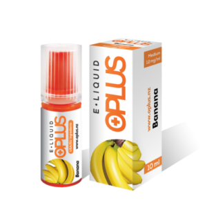 OPLUS E-LIQUID BANANA FLAVOR 10ML 12mg