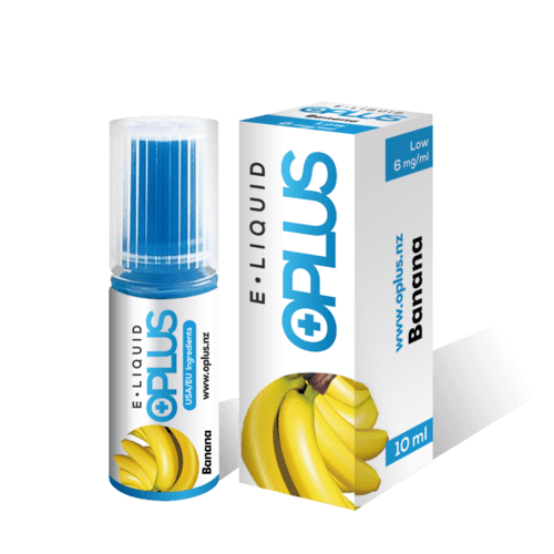 OPLUS E-LIQUID BANANA FLAVOR 10ML