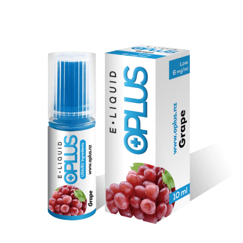 OPLUS E-LIQUID GRAPE FLAVOR 10ML 6mg