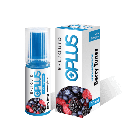 OPLUS E LIQUID BERRY TUNES FLAVOR 10ML 6mg
