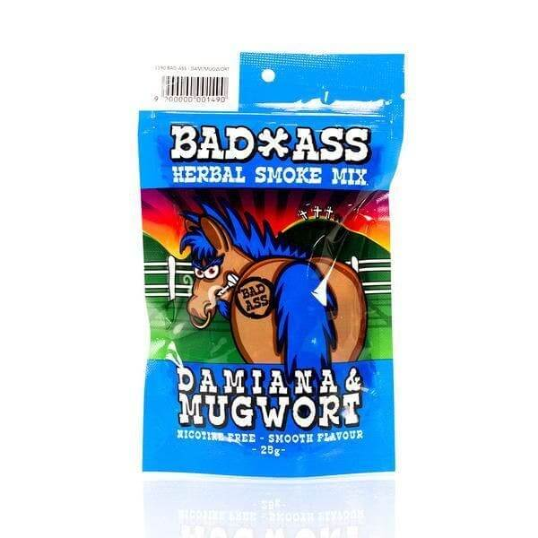 BAD-ASS DAMIANA MUGWORT HERBAL SMOKE MIX