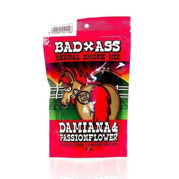 BAD-ASS DAMIANA PASSIONFLOWER HERBAL SMOKE MIX