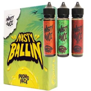 NASTY JUICE BALLIN 3 BOTTLES