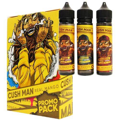 NASTY JUICE CUSH MAN REAL MANGO 3 BOTTLES