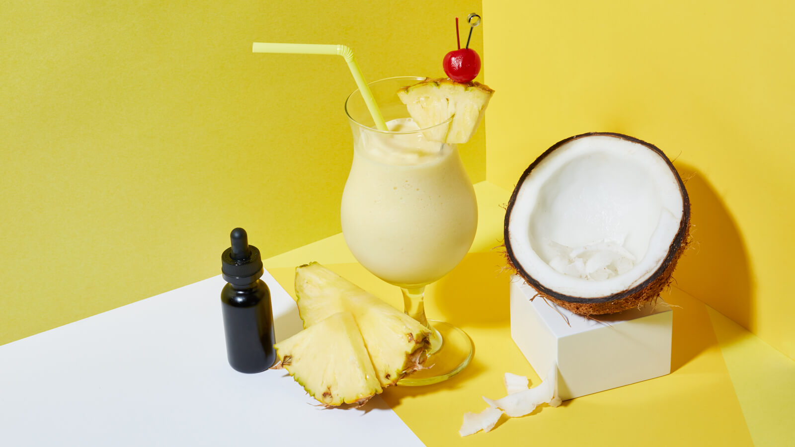 How to make a cannabis-infused piña chillada